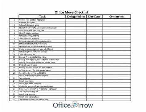 office moving checklist excel spreadsheet spreadsheet