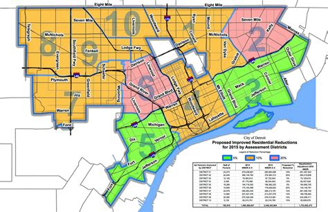 detroit property taxes map detroiters decrease many tax assessment dailydetroit