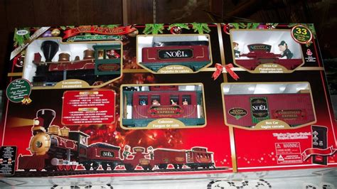 33 pc north pole express rc christmas train set great