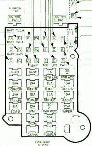 1993 Chevy Blazer 4wd Fuse Box Diagram  U2013 Auto Fuse Box Diagram