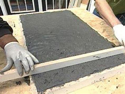 how to make an outdoor concrete countertop how to create and install concrete countertops how tos diy