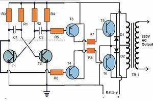 3 Ic Cfl Inverter Circuit