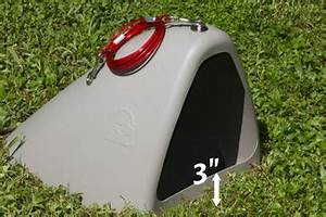 Is your dog safe in an underground dog house paw castle for Underground dog house for sale