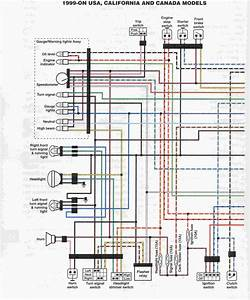 1998 Yamaha V Star Wiring Diagram