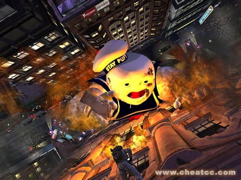 ghostbusters game ghost stay puft equipment slideshow xbox marshmallow