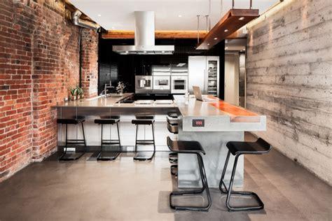 concrete kitchen design 60 kitchen designs ideas design trends premium psd Industrial