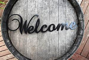 Metal, Welcome, Sign
