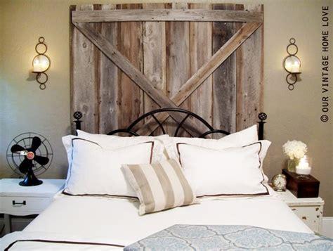 Barn Door Headboard Plans by Barn Door Headboard Homey Stuff Pinterest