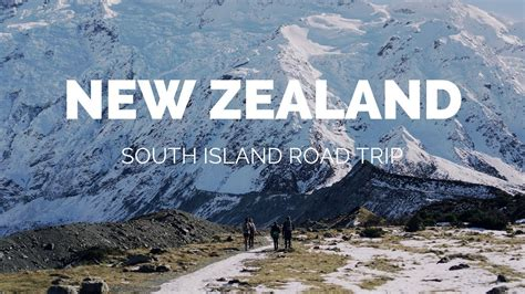 New Zealand South Island Winter 2017 Youtube
