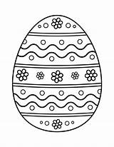 Easter Egg Coloring Pages Eggs Sheets Celent Hop Ester Printable Popular sketch template