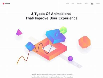 Types Animation Experience User Animations Improve Scroll