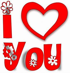 OnlineLabels Clip Art - I Love You