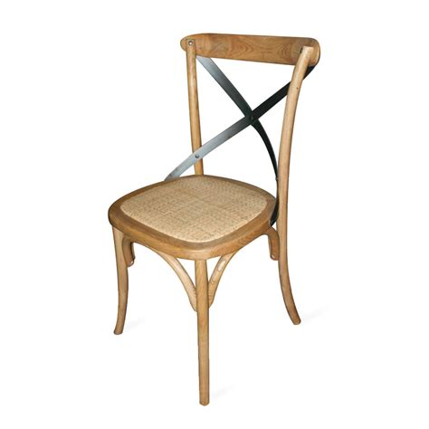 chaise de bistrot ou de brasserie en bois collection stable
