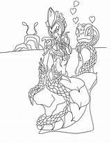 Coloring Legends League Lol Fizz Surprise Template Drawings Cass Melusine Designlooter Sketch Templates 88kb 1024 sketch template