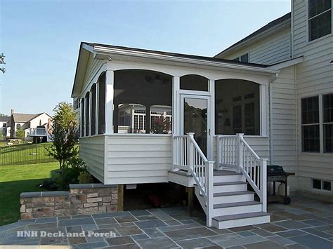 Porches & Screened Room Gallery  Hnh Deck And Porch, Llc