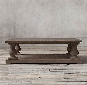 Diy restoration hardware coffee table girl in the garager for Restored wood coffee table