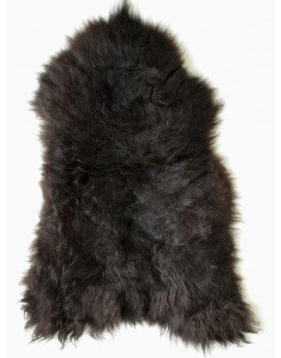 black faux fur rug black brown sheepskin rug black sheepskin rugs 4669