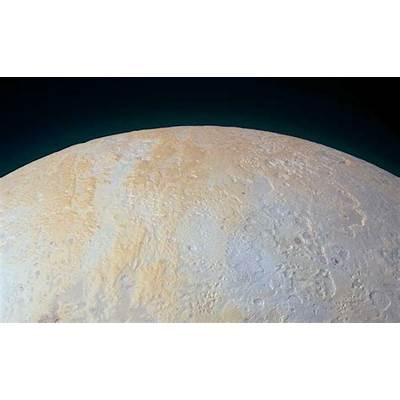 Pluto's North Pole is Etched With Icy Canyons