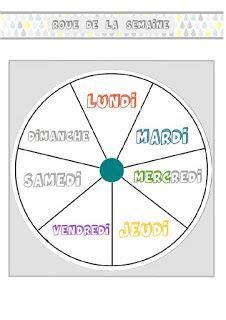 foto de BIBOUCHE EN CLASSE : Ephéméride et roue de la semaine