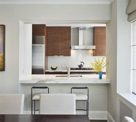 kitchen pass through design pictures dining room modern kitchen new york by laurie 8382