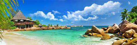 Tropical Hd Wallpaper Background Image 3500x1149 Id