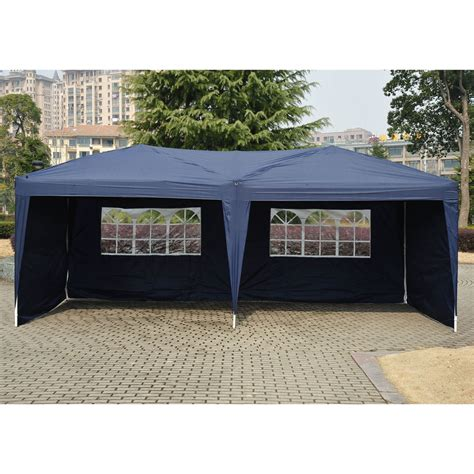 ubesgoo xez pop  canopy wedding party tent outdoor folding patio gazebo shade walmart