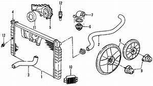 Chevrolet S10 Engine Coolant Thermostat Housing