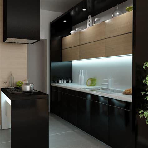 Small Black Kitchen By Pnn On Deviantart