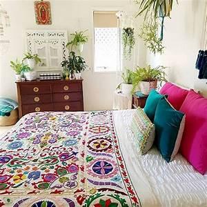 89, Cozy, U0026, Romantic, Bohemian, Style, Bedroom, Decorating