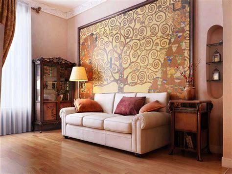 contoh desain wallpaper dinding ruang tamu minimalis