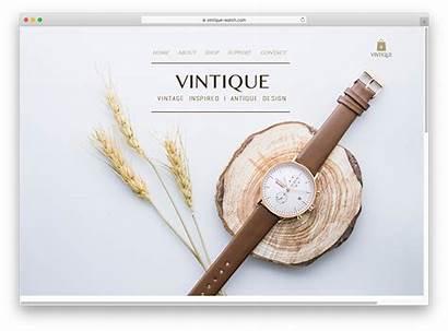 Wix Websites Examples Vintique Website Looking Slogan