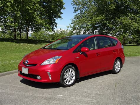 Cost Of Toyota Prius by 2014 Toyota Prius V Touring Road Test Review Carcostcanada