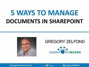 5 ways to manage documents in sharepoint office 365 With using sharepoint to manage documents
