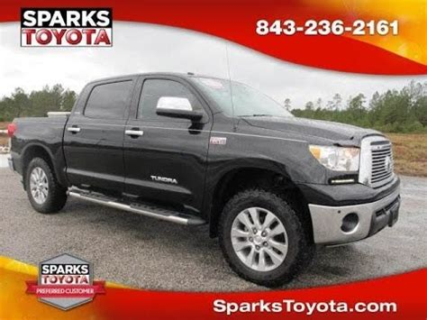 Sparks Toyota Myrtle by 2012 Toyota Tundra 4wd Crewmax 5 7l Limited At Sparks