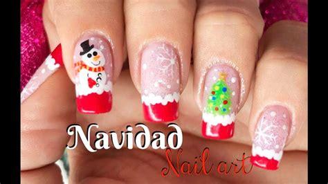 See more of diseños de uñas on facebook. Diseño de uñas Navidad - Christmas Nail art - YouTube