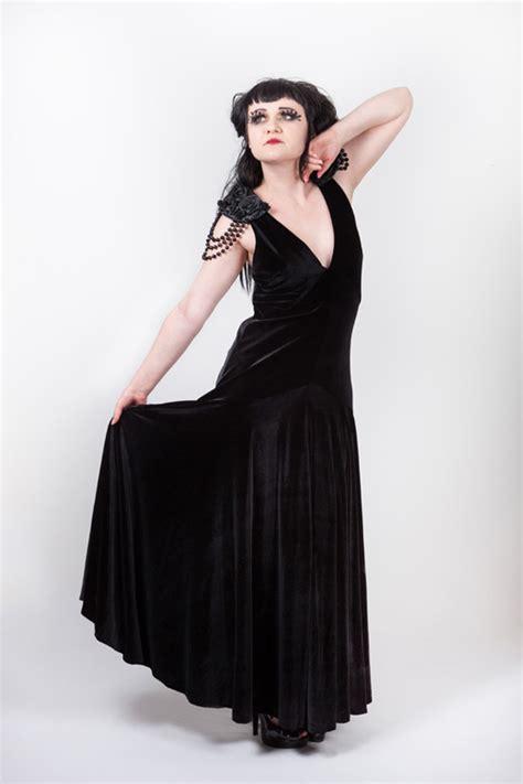 hollywood glamour dress  emerald angel