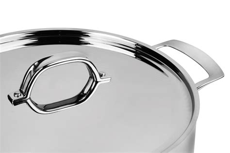 viking tri ply stainless steel stock pot  quart cutlery