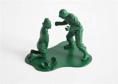casualties  war realistic  depressing  green army men figures