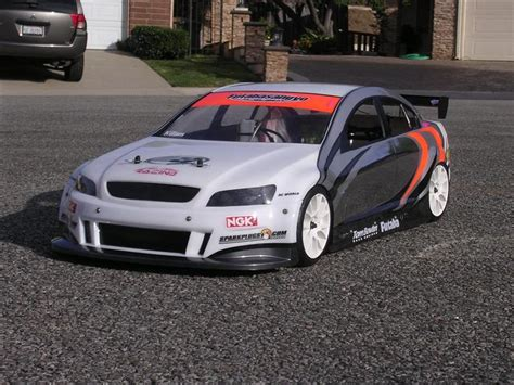 1-5th Scale Series Ii Holden Commodore V8 Supercar Body