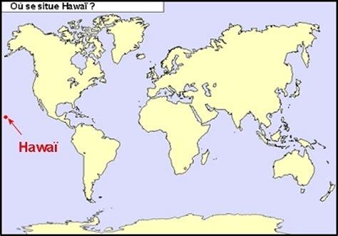 Hawaii Carte Du Monde by Hawaii Carte Du Monde Voyages Cartes