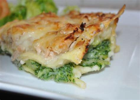 lasagnes au saumon et brocoli les recettes de la cuisine