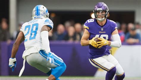vikings  lions betting lines spread odds  prop bets