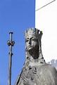 Statue Of St. Jadwiga Queen On Altar Three Millennia ...