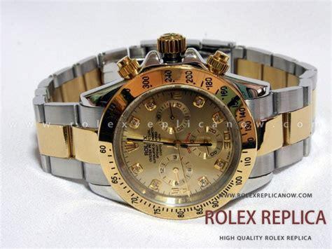 Daytona Replica by Rolex Daytona Replica Steel And Gold With Diamonds