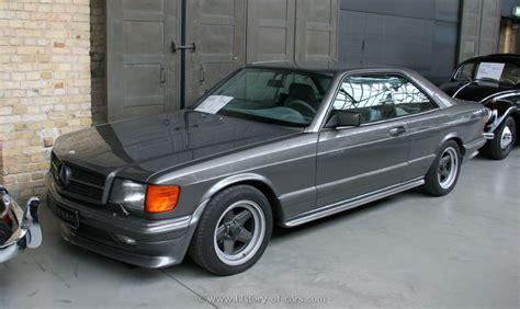 Mercedes 1983 C126 500sec Amg