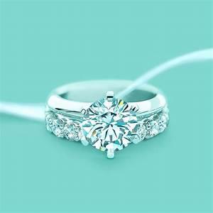 the tiffanyr setting tiffany setting engagement diamond With tiffany wedding ring set