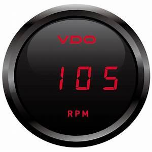 333 003 Cockpit Digital Gauge Tachometer Vdo