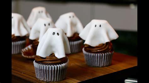 recette halloween cupcakes fantome au chocolat faciles