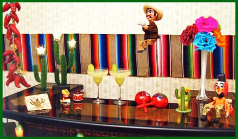 Stylish Adult Mexican Fiesta Party Decorations  Unique Decor