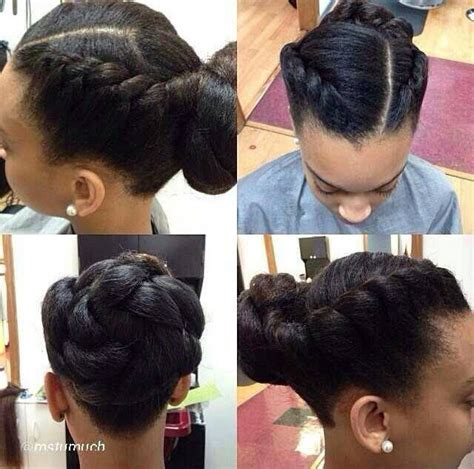 13 Hottest Black Updo Hairstyles   Pretty Designs